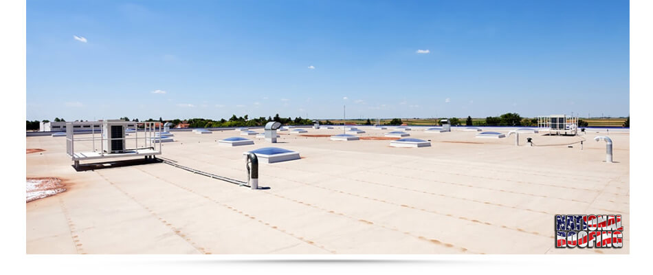 Commercial Roofing - National Roofing